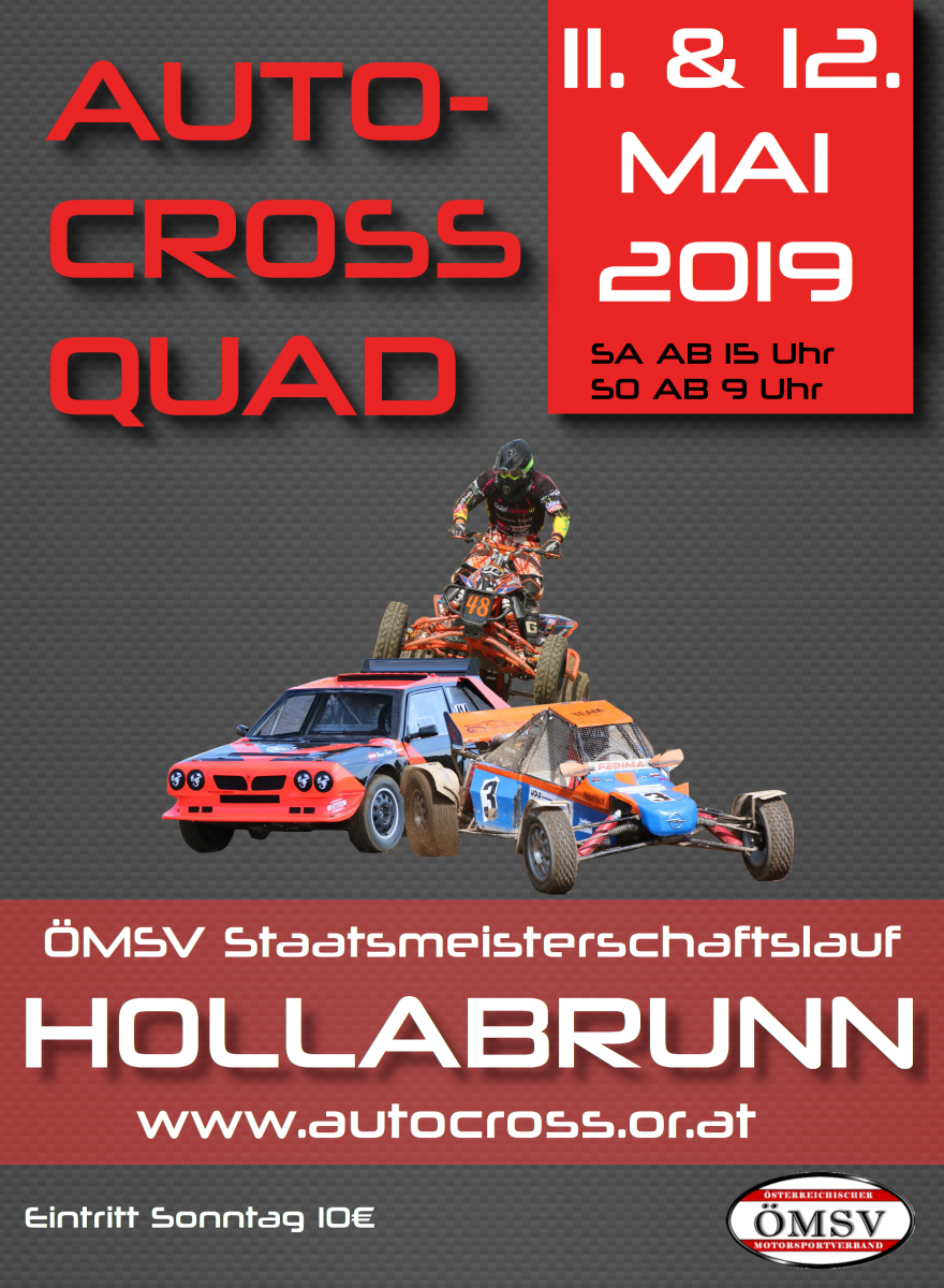 Plakat Autocross Hollabrunn OEMSV